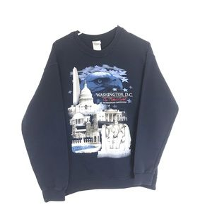 WASHINGTON DC GRAPHIC CREWNECK